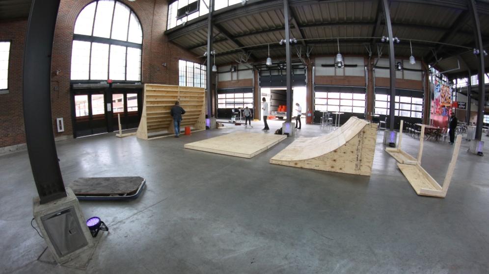 Landslide Skate Park Backyard Ramps