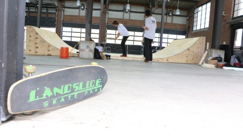 Landslide Skate Park Backyard Ramps